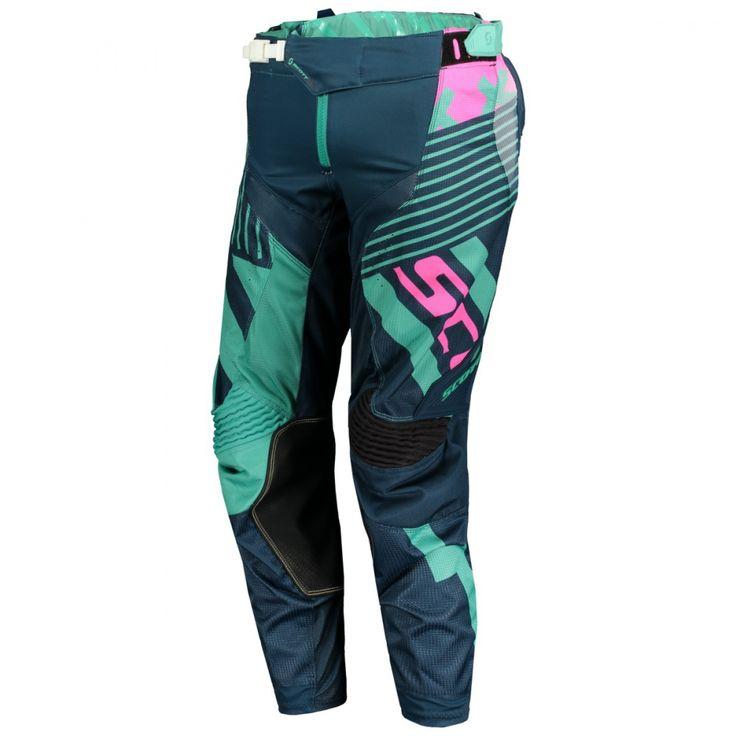Scott 450 PATCHWORK Pants (BLU/BLU).