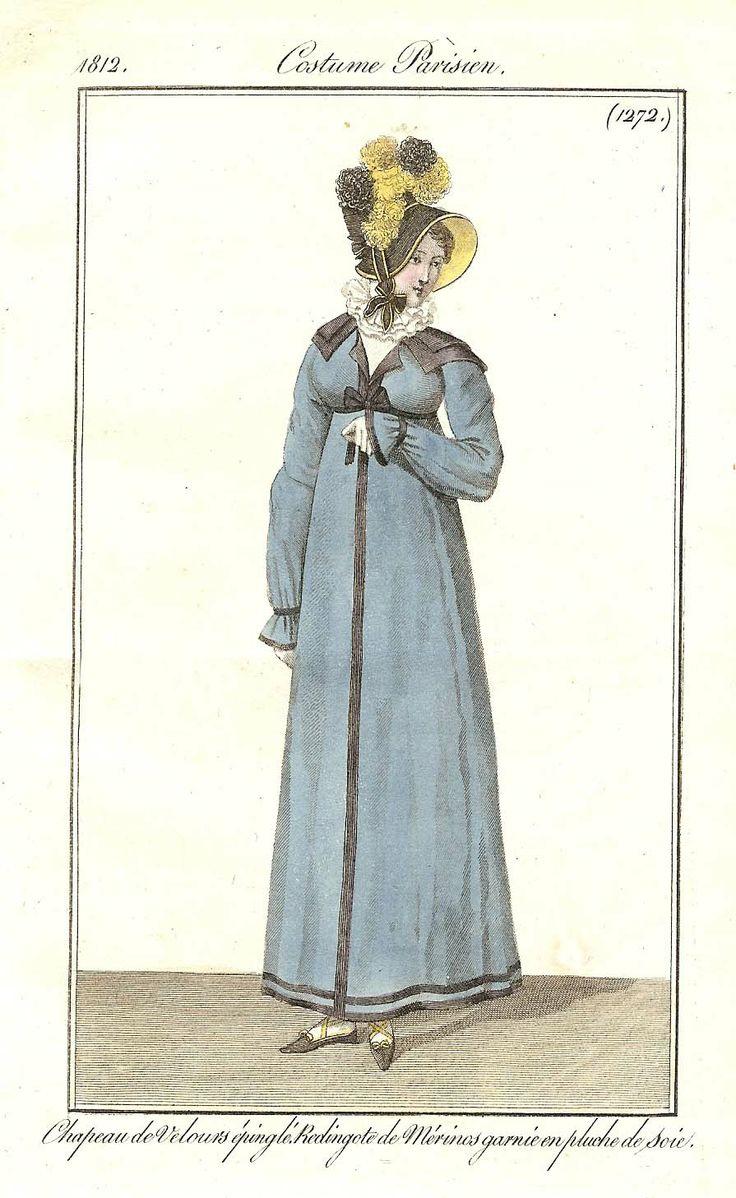 Journal des dames et des modes / Costume Parisien: 25 Novembre, 1812