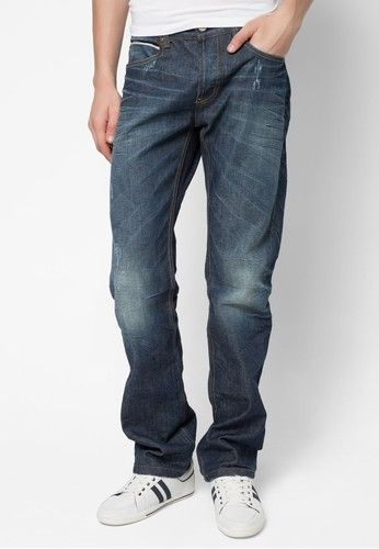 #Rebel #Jeans #Denim Wash Effect #Slim #Fit for #Men #Fashion with 30% #Discount at #Zalora #CollectOffersThailand