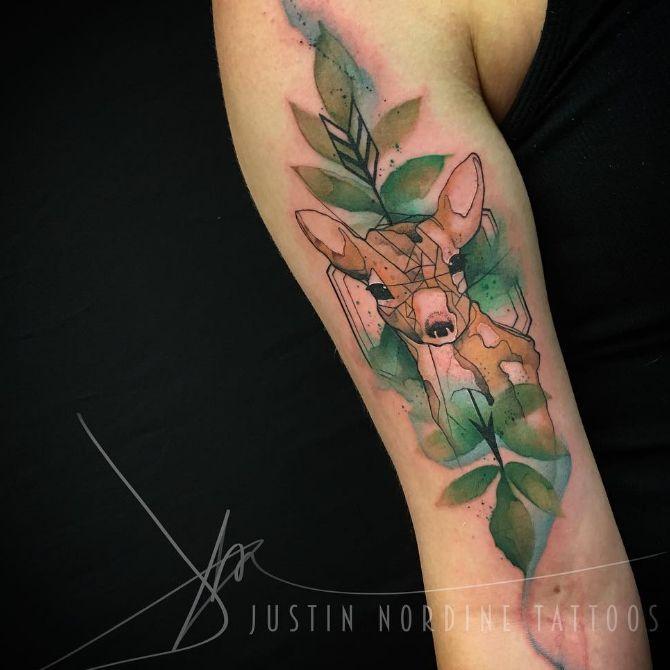 26 Deer Tattoos: 188 Best Images About Deer Tattoo Inspo On Pinterest