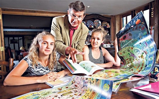 """""""I also began to realise that this wasn't just about us educating our daughters; rather the experience of home educating was teaching us about life and learning all over again, and in a way that was so much more powerful than either my wife or I experienced when we were at school."""" Christopher Lloyd"""