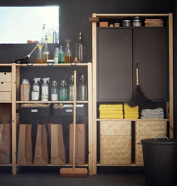 Die besten 25 Ivar regal Ideen auf Pinterest  Ikea ivar regal Ikea ivar und Speisekammer
