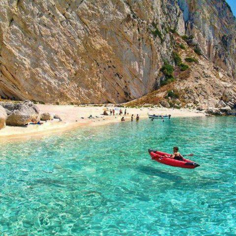 Aspri Ammos Beach, Othoni Island - Greece. by Harsal_Dershil - free online collage maker
