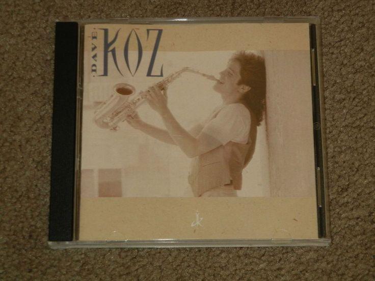 Dave Koz by DAVE KOZ (CD, Music, Jazz, Easy Listening, Instrument, Saxophone) #Saxophone