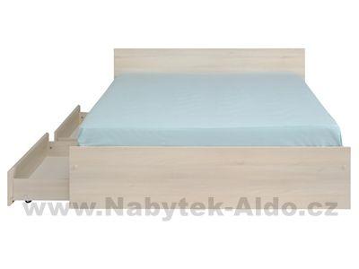 Moderní postel s šuplíky Read-140-1050L24T