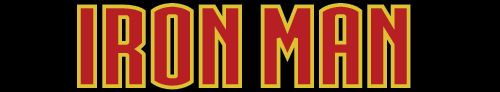 This is the font I will be using for Iron Man's name.