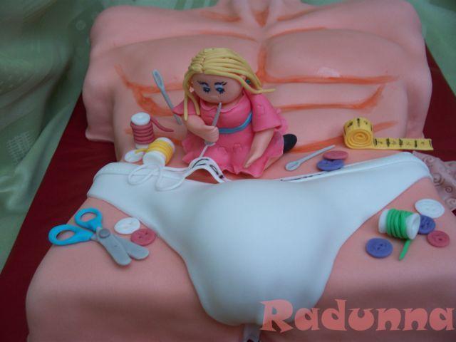 Dorty od Radunny - Fotoalbum - dorty pro dospělé - chlapské torza
