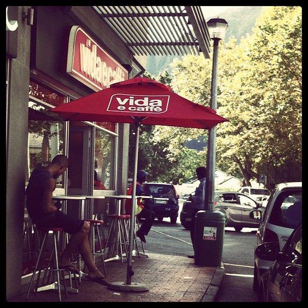 Vida e Caffe Coffee Shop.  Johannesburg.