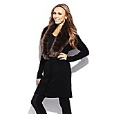 G by Giuliana Rancic Sweater Cardigan with Removable Collar
