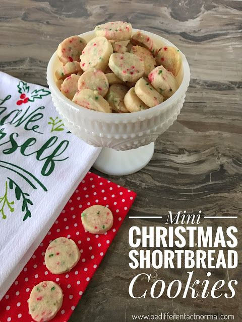 Last week I shared these fun Mini Christmas Shortbread Cookies over at Tatertots and Jello . It was fun to guest post for Jen. I have lov...