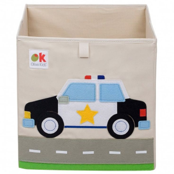 Olive Kids Police Car Storage Cube - 681691