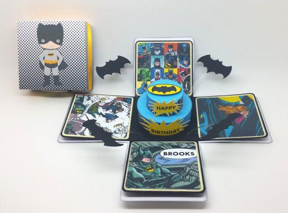 Batman+Exploding+Box+Card+/+Party+Invitation+by+LittleSofi+on+Etsy