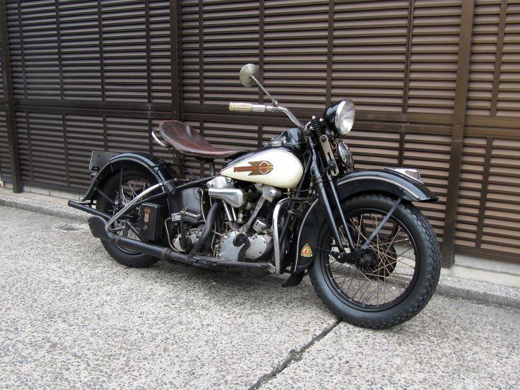 '39EL Owner 佐々木 ワタシのバイク My Knucklehead.