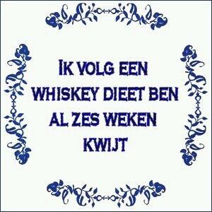 Whiskey dieet