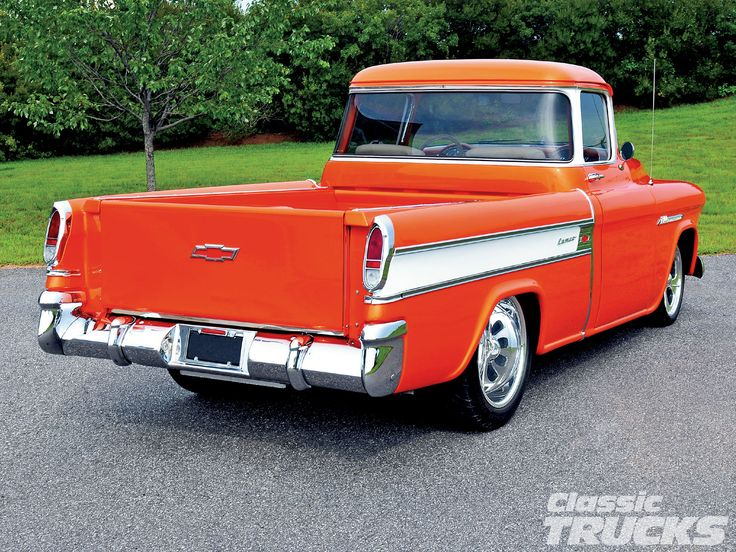 1955 chevy truck | 1955 Chevrolet Cameo Rear | 55 - 59 ...