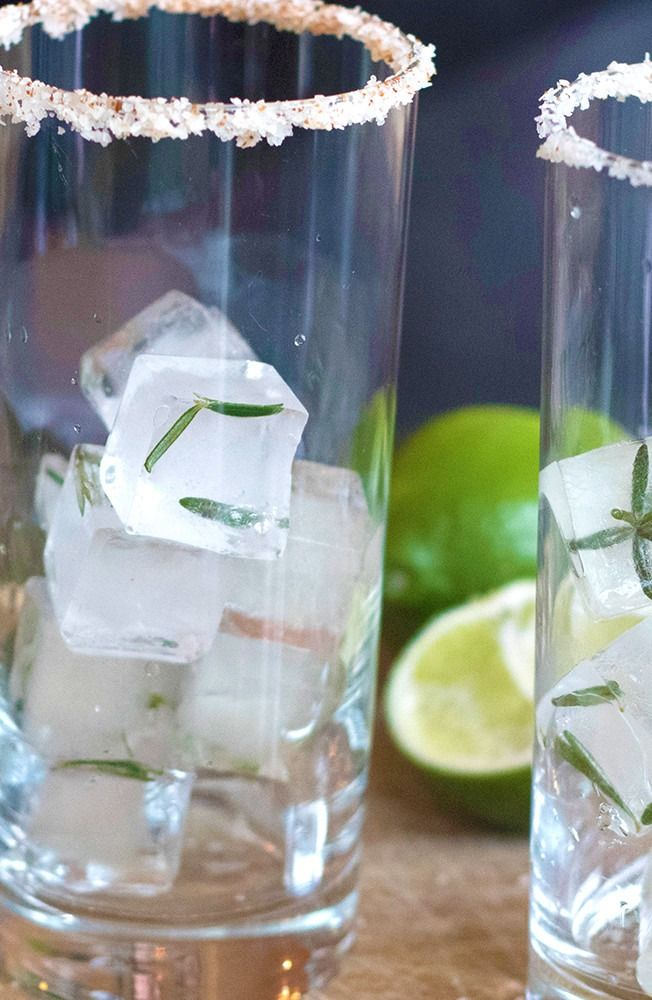 Stay cool this summer by adding fresh herbs to your ice tray! Learn how to freeze herbs in water for that special addition to a signature cocktail.