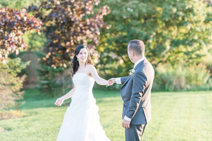 bride and groom portraits outside next restaurant