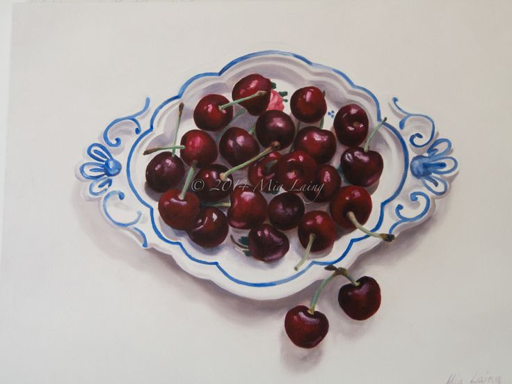 West Australian artist Mia Laing 2014. 'red, white and blue' oil on canvas