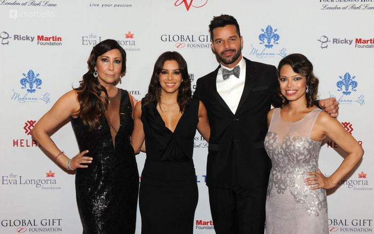 Gallery: @MariaRBravo @EvaLongoria @AlinaPeralta @RickyMartin at The 5th Annual Global Gift Gala London - @FSLondon