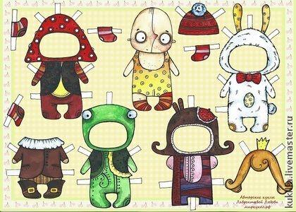 Любовь Лаврентьева. Забавные бумажные куклы. Милые и забавные, коллекционные, бумажные куклы будут превосходным подарком для девочек и мам.  Будут отличным корпоративным презентом в наступающие праздники.