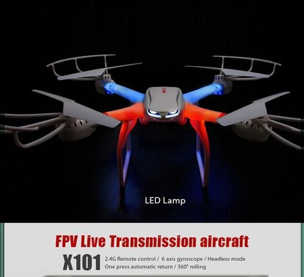 Profession Drones Mjx X101 Quadcopter 2.4g 6 Axis Rc Helicopter With Gimbal With 720p C4008 Fpv Wifi Camera Hd Vs Syma X8c X600 Photography Drone Parrot Drone Review From Ebeylo, $115.98| Dhgate.Com