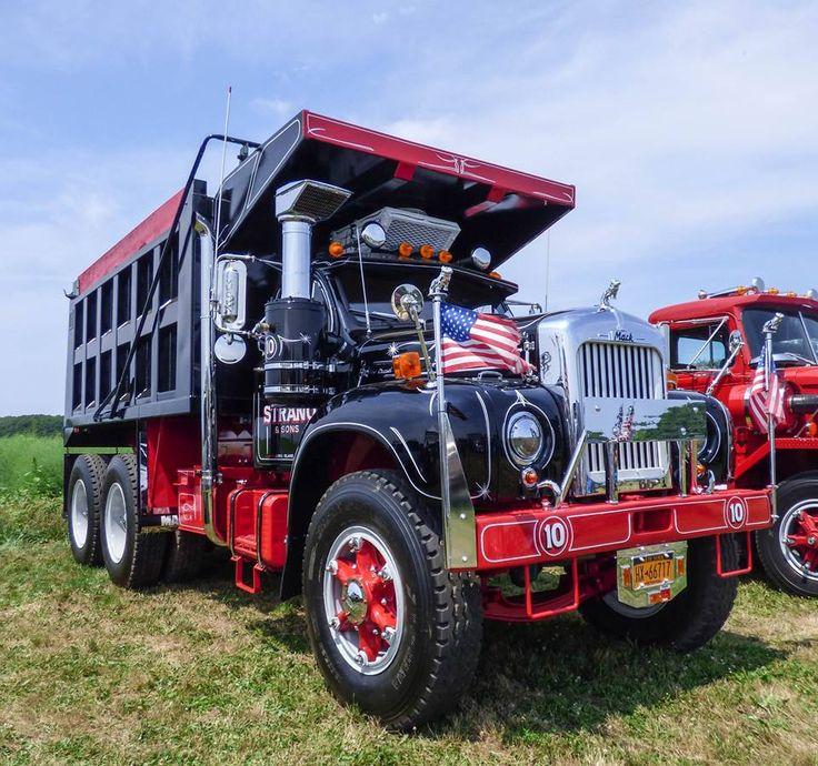Mack C Model Trucks : Best images about vintage dump trucks on pinterest