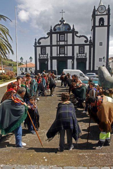 Azores San Miguel Island Portugal Capelas pilgrims Romeiros, Azores, Portugal ... News Photo 184255275