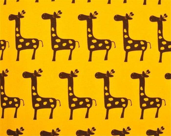 Ohlssons Tyger - - Mjuka tyger - Trikå Giraff