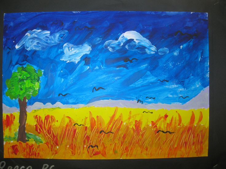 Van Gogh wheatfields