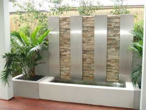 19 best water features images on pinterest for Urban waterfall design