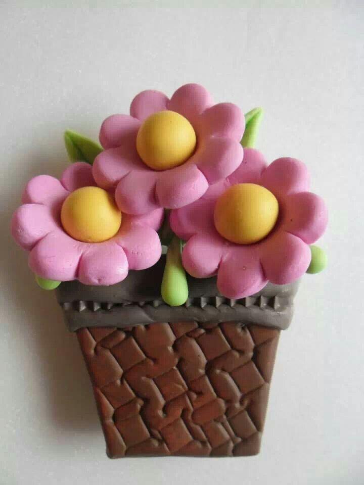 Flor aplique