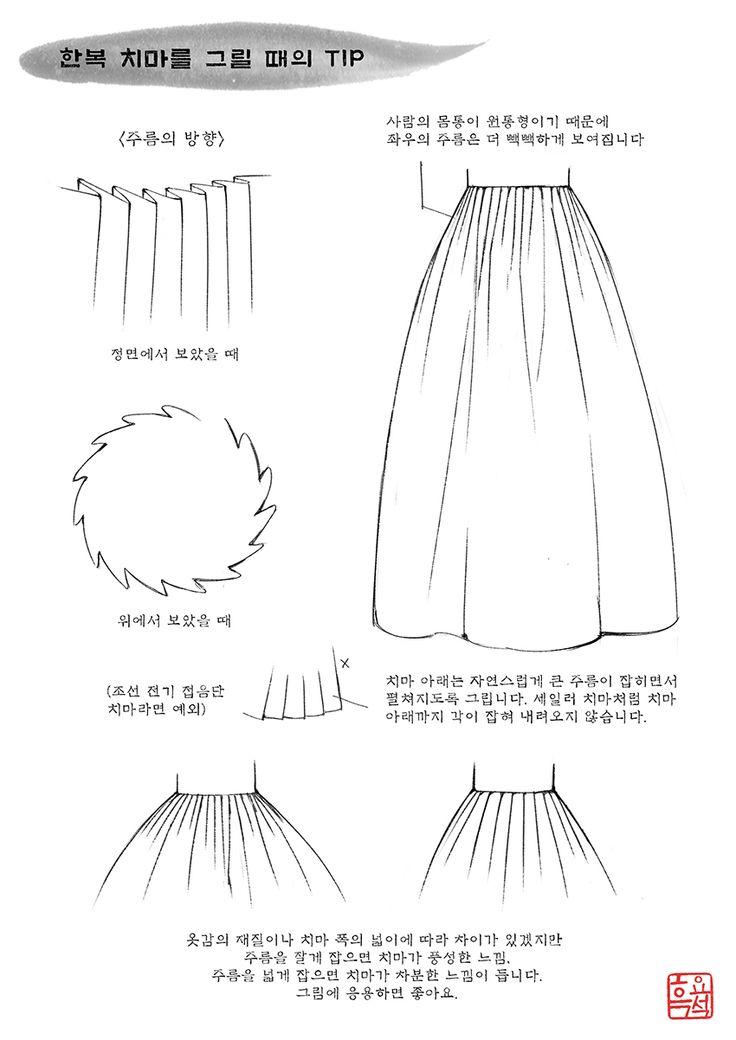 한복x복식 | 치마(4) | 치마 형태(1) | 흑요석