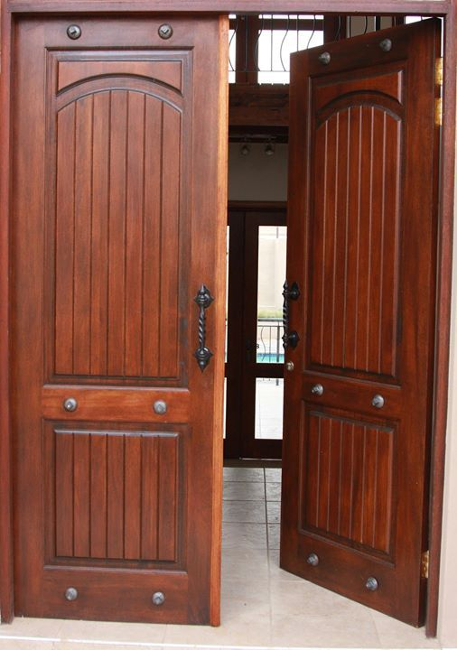 Door of the Day : Carve 6 DSB (Dark Stain and Bolts) This beautiful Farm style type door is part of our Carve Range. Get a few ideas by browsing through the gallery of previous farm style projetcs  supplied with Van Acht Windows and Doors.  Farmstyle Carve 6 DSB (first 4 pictures) Size: Available in 813x 2032mm or 813X2320mm Timber : Meranti with Dark Stain