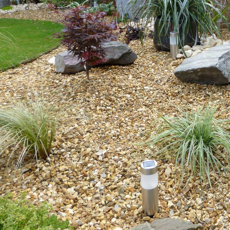 8 best images about customer photos decorative gravel on for Decorative landscaping stone