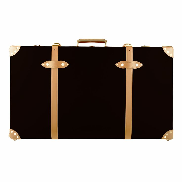 """SAFARI Globetrotter Suitcase - Colonial Brown & Natural - 33"""" EXTRA DEEP SUITCASE - £1,115.00"""