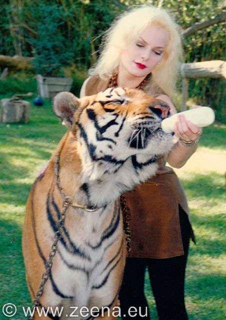 Zeena at Shambala wildlife sanctuary.