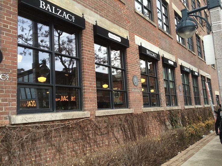 Balzac Liberty Village Awning.
