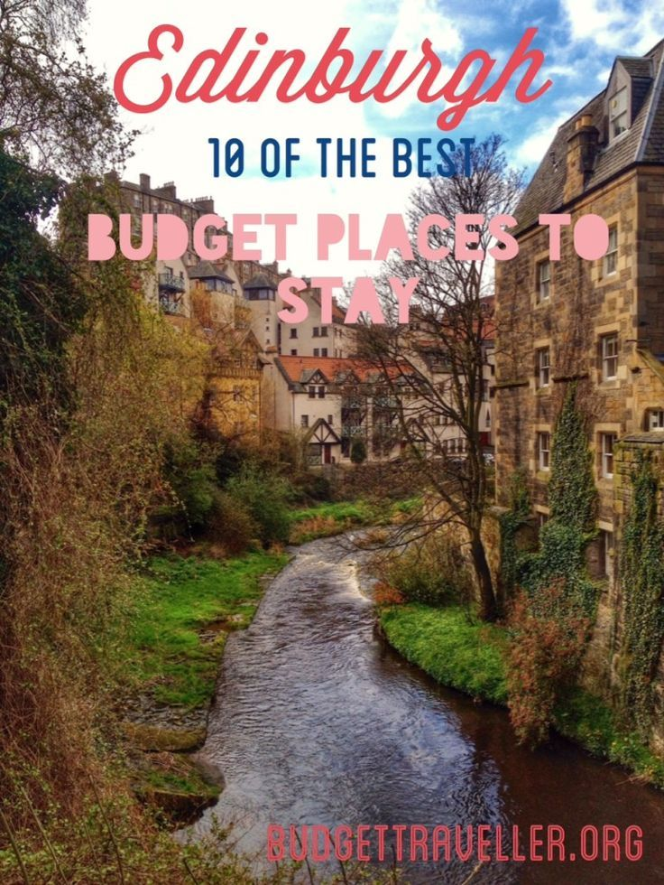 New on the BudgetTraveller: 10 of my favourite budget places to stay in Edinburgh. #edinburgh #budgettravel