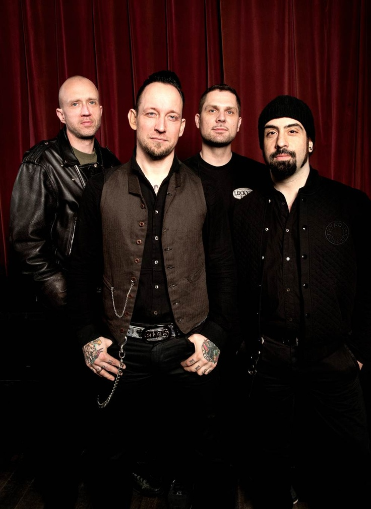 New #Volbeat press shot! (photo cred: Eric Weiss) tonite 4/3/13 I'm there @ mill city nights Mpls mn SOLD OUT show!!!!! Pumped