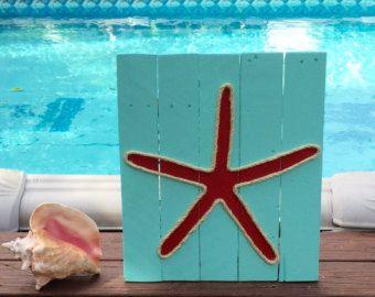 Hibiscus hecho a mano con cuerda playa plataforma arte