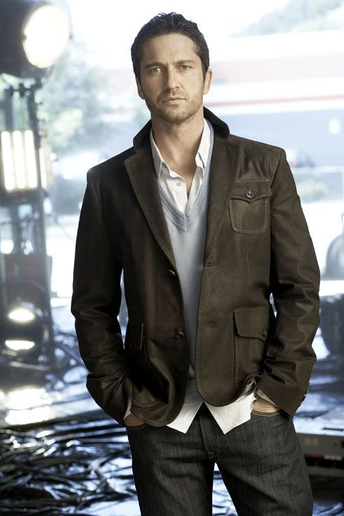 Gerard Butler. I like Scottish guys that can sing.