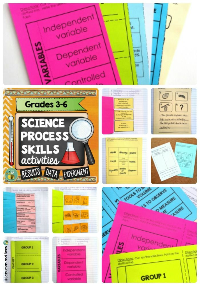 Interactive Science Notebook. Great  to review or reinforce science process skills during the school year. Most of the foldables/fold-ups included in this reosurce allow for differentiated instruction (may be used with whole group, small groups or with students who need individual instruction-Grades 3-5).