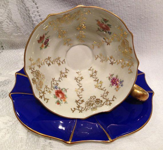 Vintage Kunst Kronach - Bavaria Bone China Tea Cup & Saucer on Etsy, $45.13 CAD