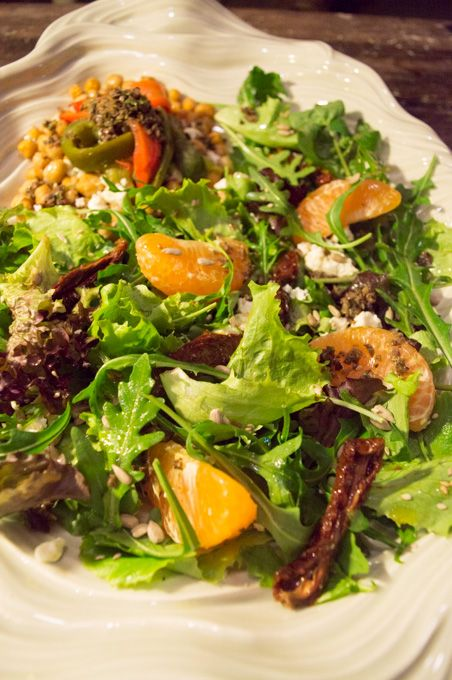 pleasing mediterranean salad med salads salads nom tasty salads salads ...