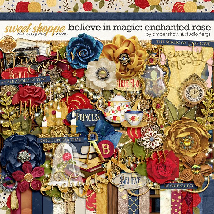 Believe In Magic: Enchanted Rose by Amber Shaw & Studio Flergs