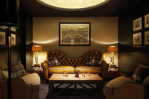 Private Room at the bar of Hotel Intercontinental, Westminster