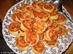 Recept - Pizzasnurror på smördeg
