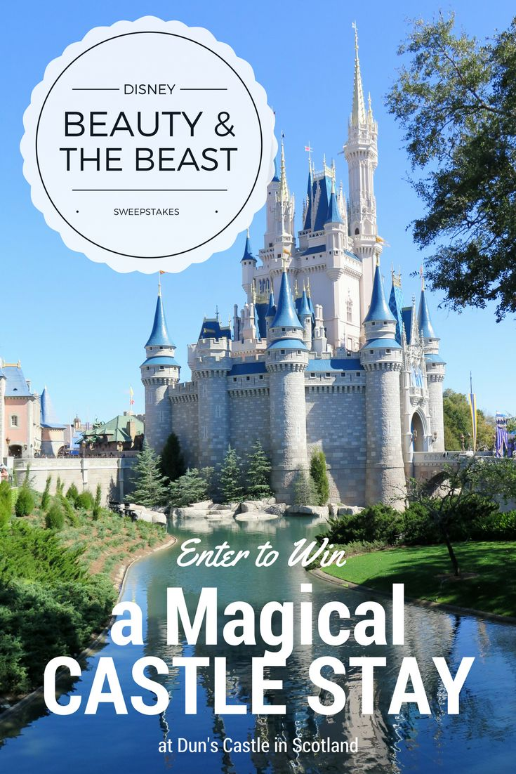 Disney Princess Magical Vacation for you and 20 guests in Scotland in honor of Beauty and the Beast releasing March 17. Enter to win now through the end of March! #partner https://activate.bloglovin.com/s/RCEFzpoYlc