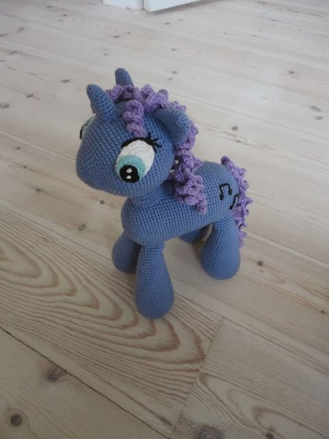 Den lilla elefant: Hæklet pony
