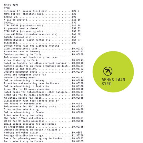 Syro – Aphex Twin – Listen and discover music at Last.fm 2014 love